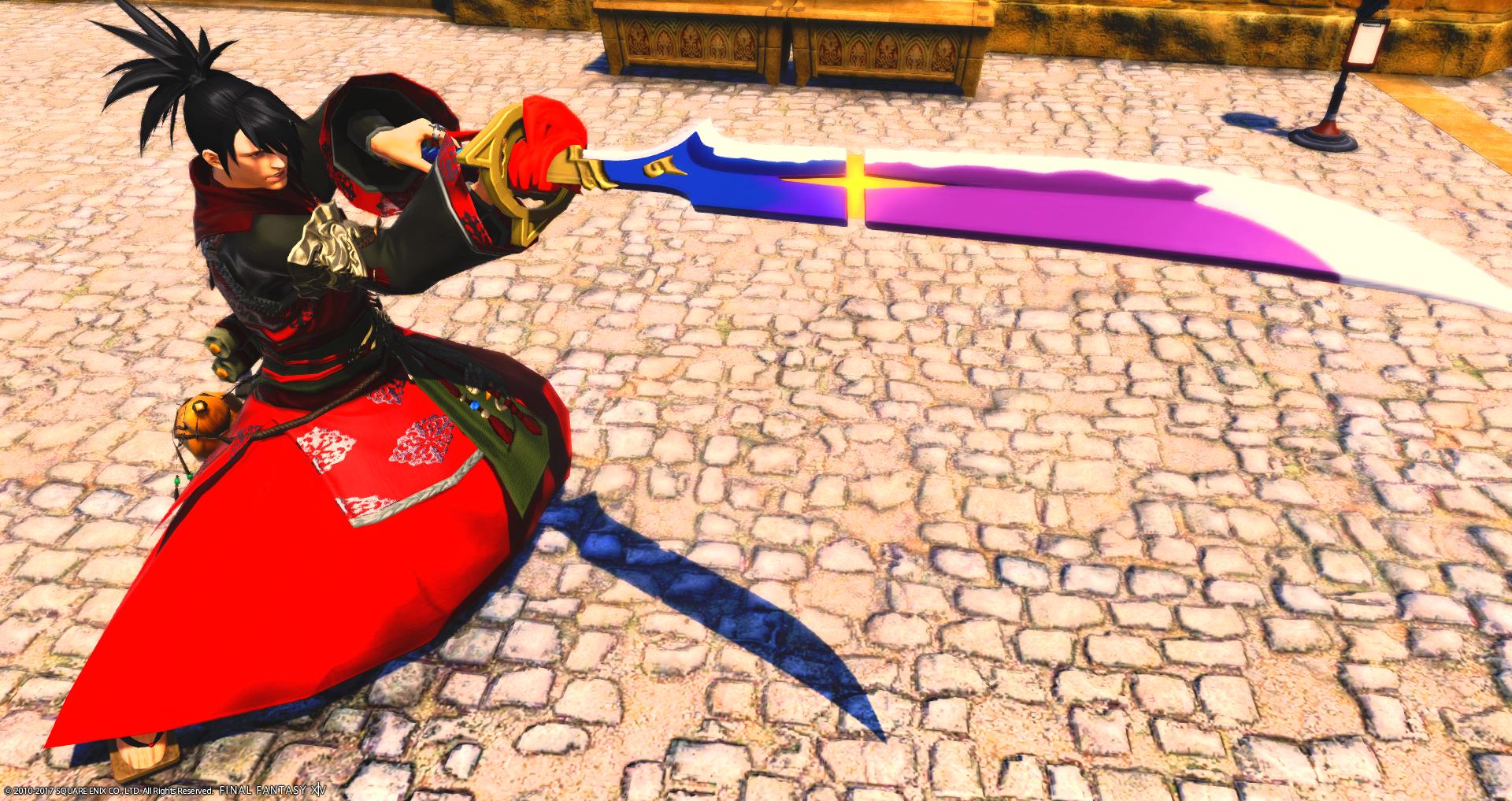 【FF14ミラプリ】暗黒騎士で侍っぽく
